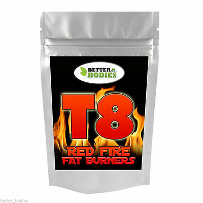 T8 Very Strong LEGAL Fat Burners Diet Weight Loss Pills Slimming Tablets Potent