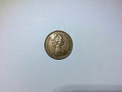 New Penny Rare 1p Coin from 1971 for Coin Collectors
