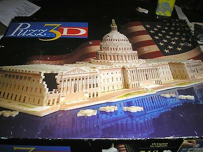 Puzz 3D Jigsaw Puzzle The Capitol 718 Pieces Extra Challenging Complete