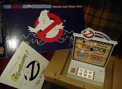 Vintage Real Ghostbusters Talking Electronic Game Complete 1990 tested & working
