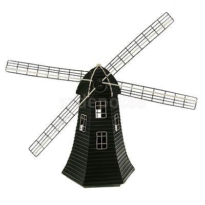 Bronze Iron Vintage Windmill for Yard Garden Decoration Home Ornaments
