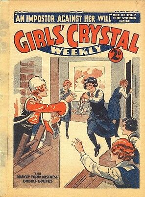 Uk Comics On Dvd The Girls' Crystal Collection Of Story Papers & Comics 1936-59