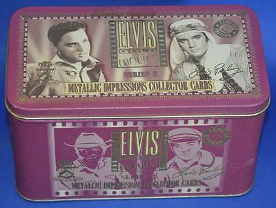 Limited Edition Elvis Gold Movies Series 3 Metallic Impressions Cards Authentic