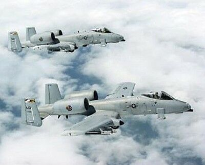 A-10 THUNDERBOLTS US United States Air Force picture poster  8x10 photo
