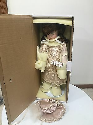"18"" LE ANTIQUE REPRODUCTION DOLL BRU FULL BODY BISQUE JOINTED artist SUE CLARK"