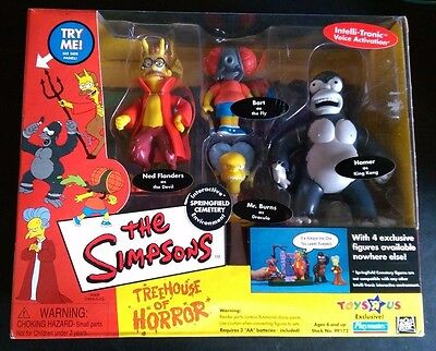 Simpsons Toys r Us Exclusive Treehouse of Horror I - Cemetery Playmates Toys MIB