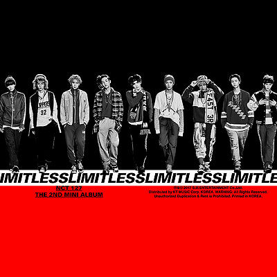 NCT127 - NCT #127 LIMITLESS (2nd Mini Album) CD+Poster+Extra Gift Photocard Set