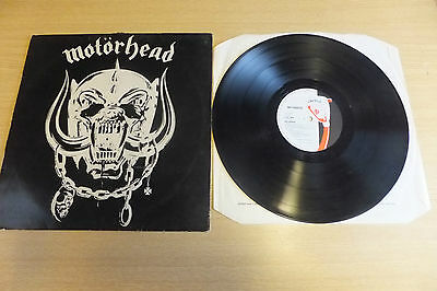 Motorhead Self Titled  Record Lp / Genuine 1977 Record /  Not New Release