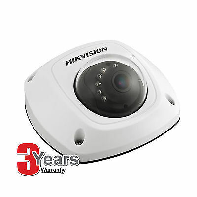 Hikvision DS-2CD2542FWD-IS & SD 4MP Microphone WDR Mini Dome IR POE IP camera
