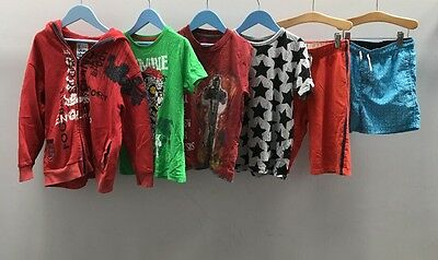 Boys Bundle Of Clothes. Age 7-8. Doctor Who, Next.  A3485