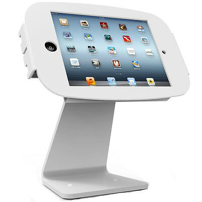 Maclocks Apple iPad 2/3/4/Air 2 Space 360 Enclosure with Rotating Stand - White