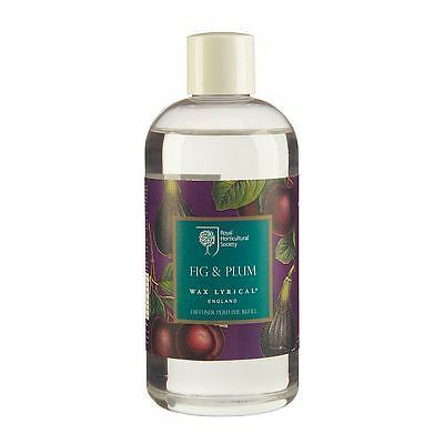 Wax Lyrical Royal Horticultural Society Reed Diffuser Refill 250ml Fig & Plum