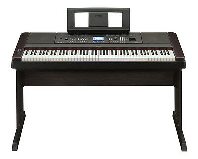Yamaha DGX650 Digital Piano - Black (DGX 650 BK/Black)