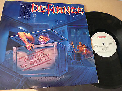 DEFIANCE Product of Society LP Roadracer Records ‎RO 9504-1 Speed Thrash Metal