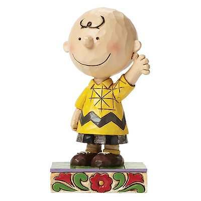 Jim Shore Peanuts Good Man Charlie Brown Figurine New Boxed 4044676