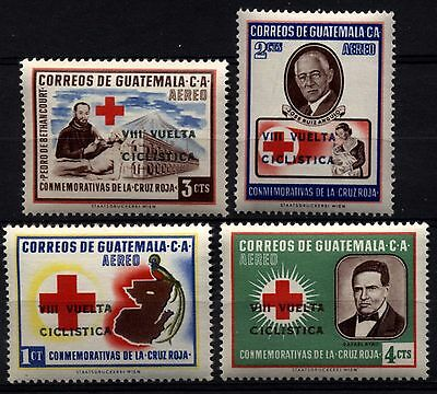 1186 GUATEMALA 1964 Red Cross ovptd **MNH