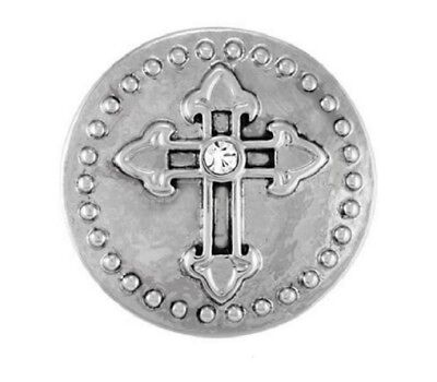 GINGER SNAPS™  CHAPEL CROSS Jewelry - BUY 4, GET 5TH $6.95 SNAP FREE