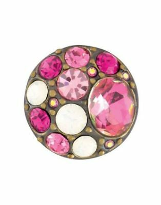 GINGER SNAPS™ BROOCH AB FUCHSIA Jewelry - BUY 4 GET 5TH $6.95 SNAP FREE