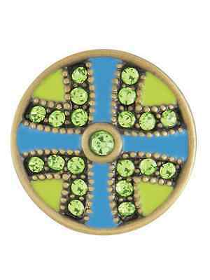 GINGER SNAPS™ FLUTTER AB GREEN/TURQ. Jewelry - BUY 4, GET 5TH $6.95 SNAP FREE