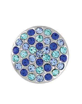 GINGER SNAPS™ RITZY MIX - BLUES Jewelry - BUY 4, GET 5TH $6.95 SNAP FREE