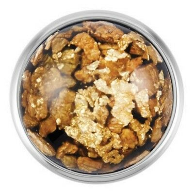 Buy 4, Get 5Th $6.95 Snap Free Ginger Snaps™ Flecked Gold Black Sn08-87
