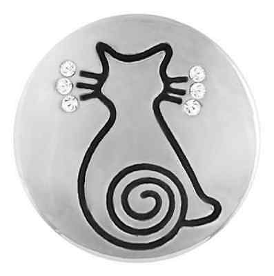 Buy 4, Get 5Th $6.95 Snap Free Ginger Snaps™ Jewelry Sassy Cat Sn20-56