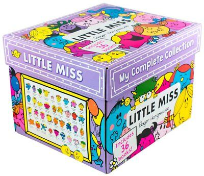 Little Miss My Complete 36 Books Collection In BOX SET