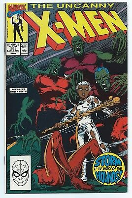 The Uncanny X-Men #265 Aug Marvel Storm at the Mercy of the Hounds