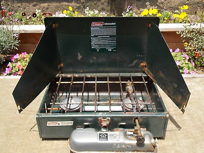 Coleman 424 Unleaded Campstove Made 5-90