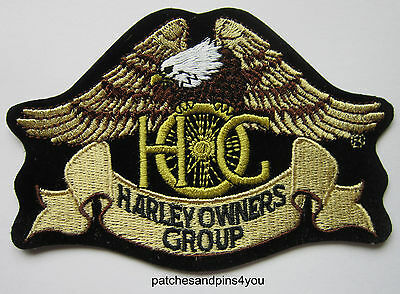 Harley Davidson HOG Harley Owners Group Small Patch NEW! FREE U.K. POSTAGE!