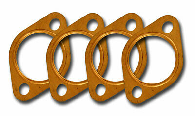 "VW TYPE 1 3 PRO COMP 1-½/"" COPPER EXHAUST PORT FLANGE GASKETS  SET OF 4 EMPI"