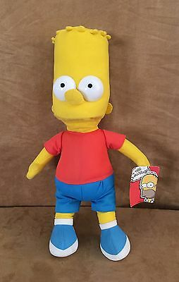 "Bart 16"" The Simpsons plush doll The Toy Factory stuffed animal"