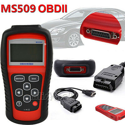 Car Vehicle Engine Fault Diagnostic Scanner Auto Code Reader OBD2 Can Tool MS509