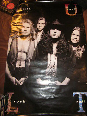 Cult Earth Soul Rock Roll  Promo Poster #1127