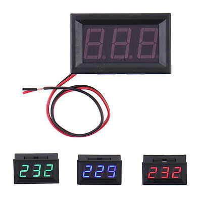AC 70-500V Red LED Digital Display Panel Volt Meter Voltage Voltmeter Car Motor
