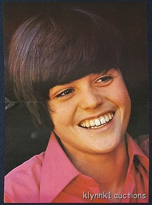 Donny Osmond POSTER 1970's Teen idol Osmond Brothers Poster #70.2