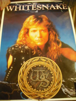 Whitesnake Color Import Promo Poster