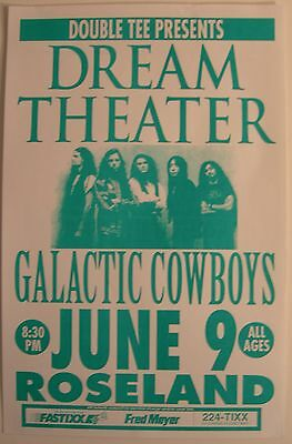Dream Theater Concert Tour Poster June 9