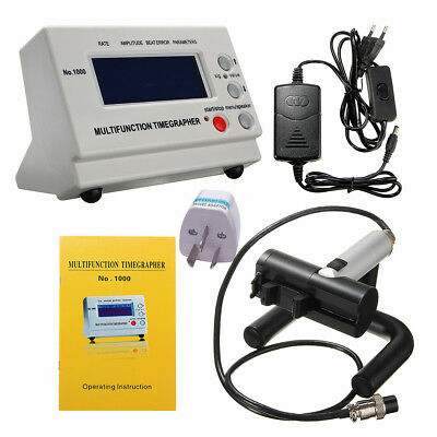 Mechanical Watch MTG Coaxial LCD Tester Timing Multifunction Timegrapher NO.1000