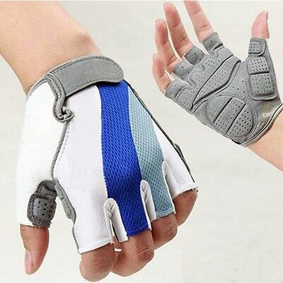 MTB Bike Cycling Weight Lifting Racing Motorcycle Sport Half Finger Gloves