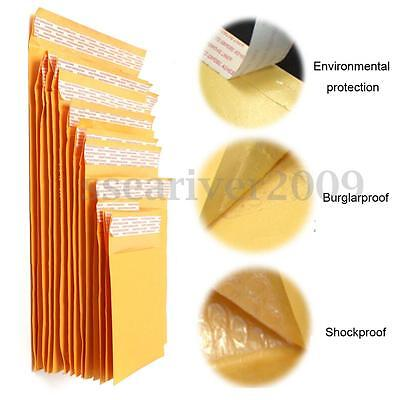 Yellow Kraft Bubble Bag Padded Envelopes Document Craft Mailers Shipping Bags