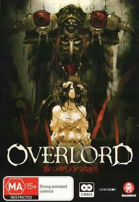Overlord - The Complete Series DVD R4 Brand New