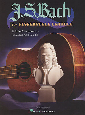 J S Bach for Fingerstyle Ukulele TAB Music Book