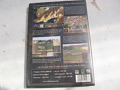 Used Pc Cd Gates Of Troy Win98/me/2000/xp