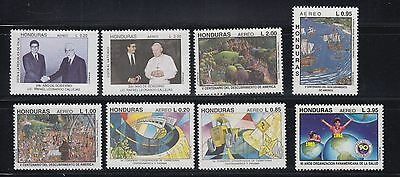 Honduras 1992 Part 2 Four Complete  Mint Never Hinged Sets