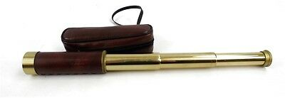 Portable/Collapsible Hand Held Telescope 25x30MM In Case Japan