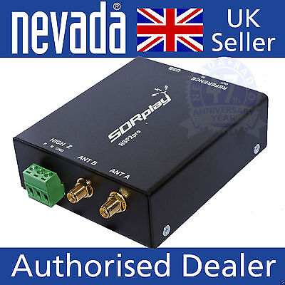 SDR-Play  RSP2 pro  version  -  RSP2 in a rugged steel case NEW
