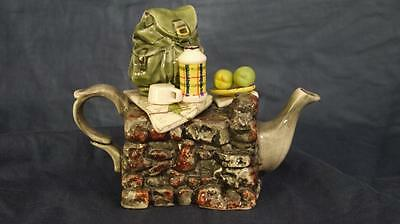 Collectable Paul Cardew Hikers Rest One Cup Tea Pot Very Good Cond
