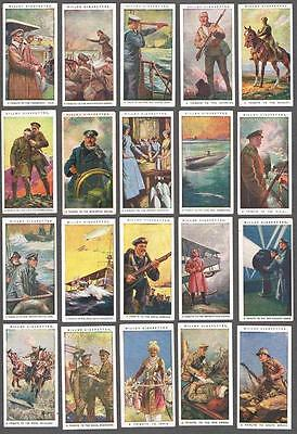 1917 Wills's Cigarettes Britain's Part in The War Tobacco Cards Complete Set
