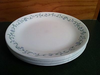 Set of 4 Corelle Corning COUNTRY COTTAGE Dinner Plates